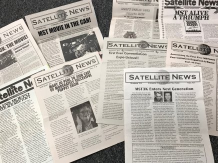 Satellite News Scattered Issues